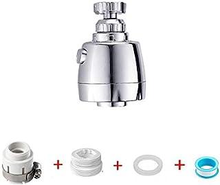 comprar comparacion Grifo giratorio de grado para fregadero de cocina, aireador de grifo extraíble, cabezal giratorio de 360 °, cabezal de roc...