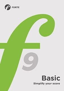 Forte 9 Basic - Music Writing Software