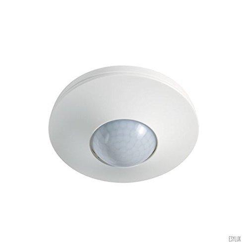ESYLUX 5142196 Präsenzmelder 360 Grad Unterputz, 8 m, 230 V, RWS, IP20, PD-C360I-8, weiß