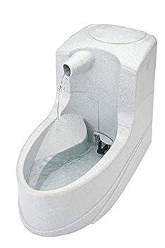 PetSafe - Petite Fontaine à eau pour Chat et Petit Chien Drinkwell Mini 1.2L - Jet Cascade - Filtre au Charbon - Débit Réglable
