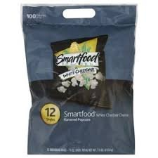 Lowest Prices! Smartfood White Cheddar Cheese Popcorn 2/12pack's (24/1.5 oz bags)