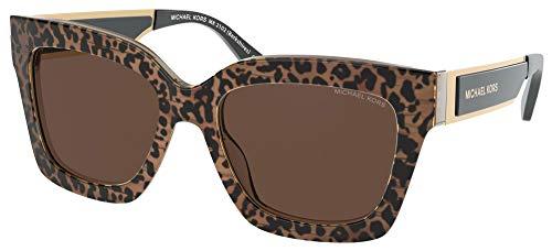 Michael Kors Gafas de Sol BERKSHIRES MK 2102 Leo Brown/Brown 54/18/140 mujer