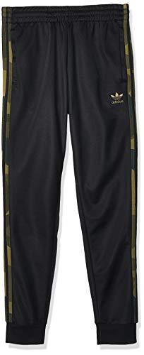 adidas Herren Sport Trousers CAMO TP, Black/Multicolor, L, FM3360