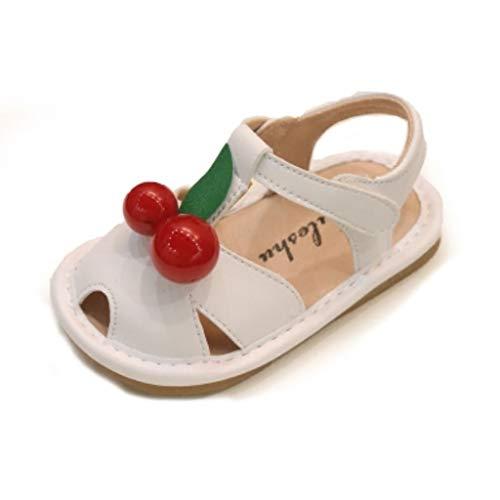LZH Sandalen Cherry Baotou Baby Soft Skid Kleinkind Schuhe Prinzessin Schuhe (Farbe : A, größe : 16)