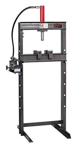 Affordable Gray BSP-10 Air 10 Ton Bench Shop Press
