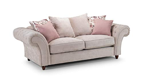 Honeypot - Sofa - Roma Chesterfield - Corner - 3 Seater - 2 Seater - Chair - Footstool -(3 Seater)