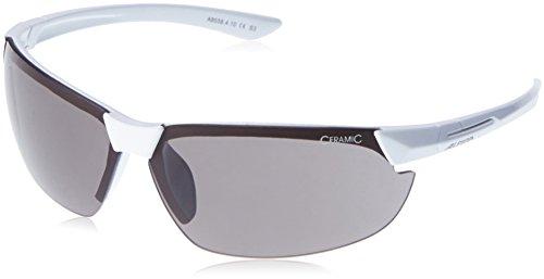 Alpina Uni Sonnenbrille Amition DRAFF Sportbrille, Weiß, Einheitsgröße