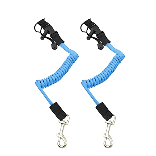 RHome Paquete de 2 correas para remos de kayak, cuerda elástica para remo de kayak, para doble y remo, caña de pescar, cordón, accesorios de surf