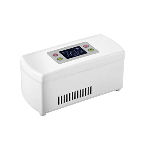 Refrigerator Tragbarer Autokühler Medizin Kühlschrank und Insulin-Kühler for Auto, Reise, Haus - bewegliche Auto-Kühltasche/Klein Travel Box for Medikamente