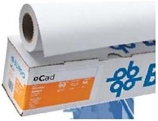 Burgo papel Inkjet Plotter mate 914 mm x 50 mt, 80 gr, Cad 80 Eco: Amazon.es: Oficina y papelería