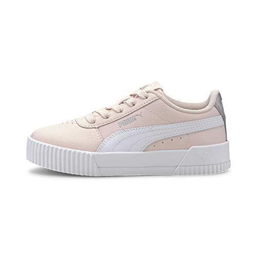 Puma Carina L Ps, Mädchen Sneaker, Pink (Pink Rosewater-Puma White 07), 34.5 EU