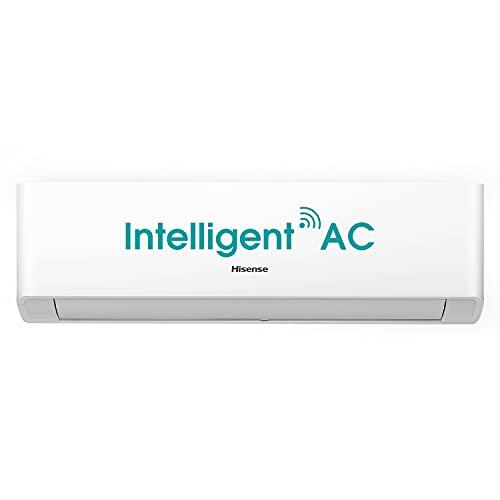 Hisense 1.5 Ton 3 Star Wi-Fi Inverter Split AC (Copper, AS-18TW4RGSKA00, White)