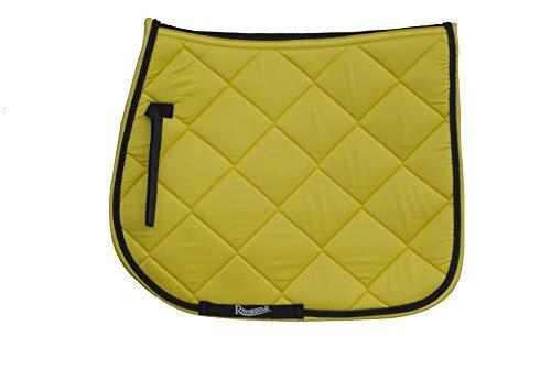 Rhinegold Unisexs 416 F YELL Elite Carnival Saddle Pad Yellow Full