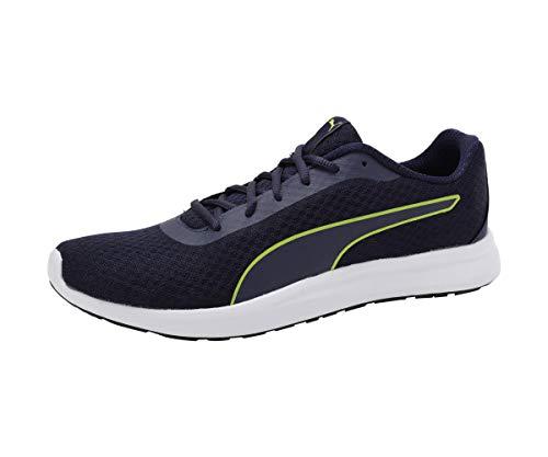Puma Men's Propel El Idp Peacoat-Limepunch White Black Sneakers-9 UK (43 EU)...