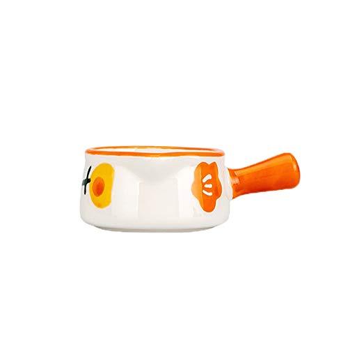 salsera de porcelana Cerámica Campana en forma de campana Jarra de crema con mango Milk Juego Juego de café Juego de crema multifuncional Pitcher Taza de leche pequeña 50ml / 1.69oz salsera