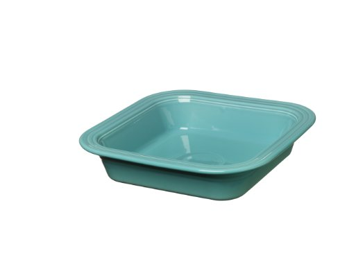 Fiesta Square Baking Dish, 9-Inch by 9-Inch, Turquoise