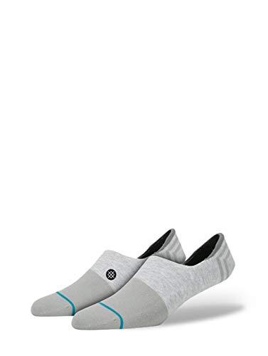 Stance Men's Gamut II No Show Socks, Gray, MEDIUM