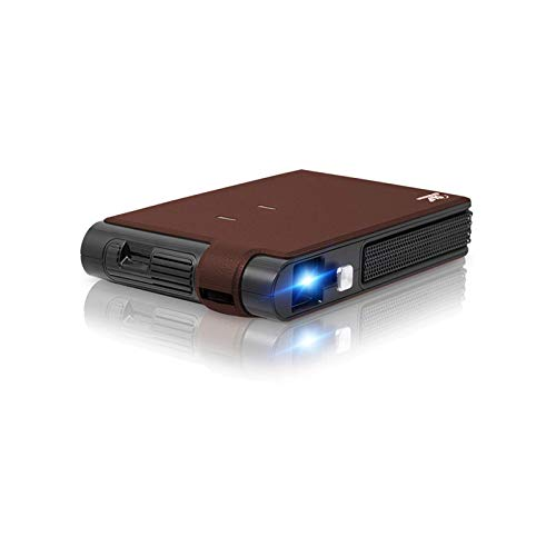 SHUNFENG-EU Proyector portátil, Pocket Mini 3D DLP Projector LED Soporte Full HD Video WiFi Mobile Projector Smartphone Home Theatre Proyector.