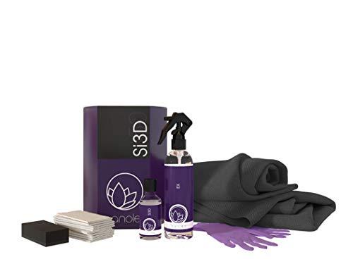 Nanolex Si3D Lackversiegelung SET, Nanoversiegelung für erhöhte Lackhärte und Farbvertiefung, Quartz Coating für langanhaltenden Lackschutz, Autolack Versiegelung mit Lotuseffekt, 50 ml + 200 ml