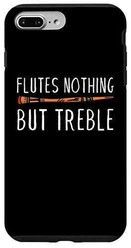 iPhone 7 Plus/8 Plus Vintage Flutes Nothing But Treble Music Instrument Flute Case