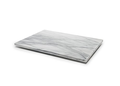 Fox Run Marble Pastry Board, 12' x 16', White