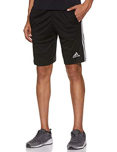 adidas Herren Design 2 Move 3-Streifen Shorts, Black/White, XL