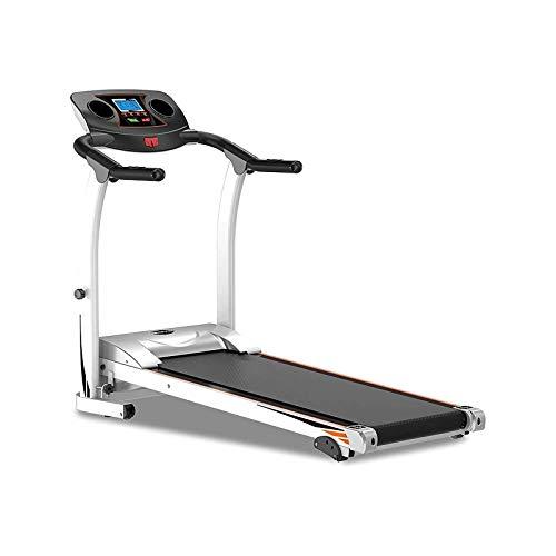 Máquinas para correr Cinta de correr plegable Bueno para el hogar / apartamento Fitness Compact COMPACT Correr Máquina de ejercicios con manillar seguro y pantalla LCD Fácil control de la máquina para