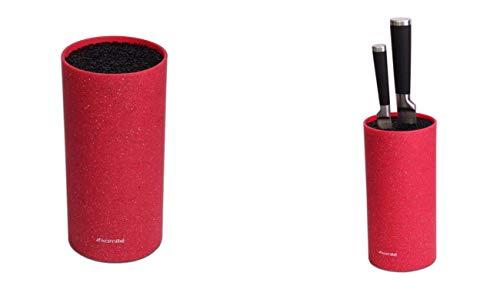 Topkwaliteit messen blokkeren drie kamers - voor messen en keukengerei universeel blok messenrek - 4 kleuren! BRON