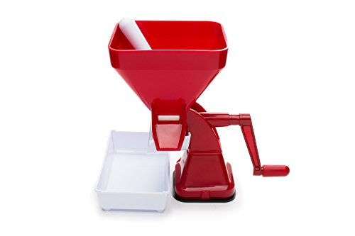 Farm to Table Tomato Press, Food Strainer/Sauce Maker for Tomato Sauce, Salsa, Marinara, Apple Sauce and more