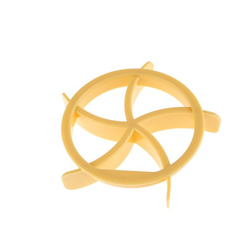 Sulifor Kunststoff-Keks-Teig-Kekspresse Backform, Brotstempel blattförmige Ausstechform, Kunststoff-Gebäckmaschine Teig-Keks-Ausstecher hausgemachte Brotform-Stempel Backen (B)