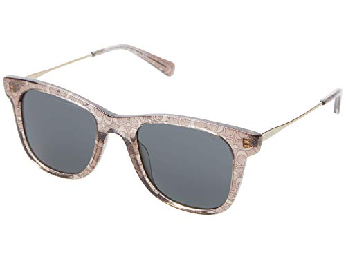 Coach Gafas de Sol HC 8290 Brown/Dark Grey 50/21/140 mujer