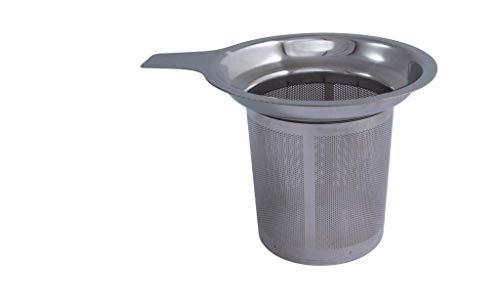 Metaltex - Filtro para vaso de infusiones, Acero Inoxidable