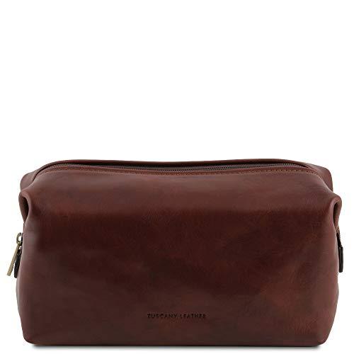 Tuscany Leather - Smarty - Beauty case in pelle - Misura piccola Marrone - TL141220/1