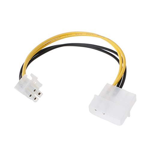 BIlinli Nuevo Hot P3 Fuente de alimentación de 4 Pines a P4 Adaptador de Cable convertidor de 12V P4 Cable Adaptador de Placa Base