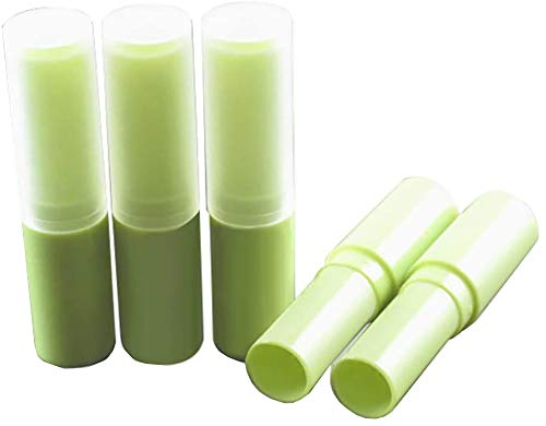 HugeStore 4ML Leer Kunststoff Lippenpflegestift Rohre Lippenbalsam Behälter Lippenstift-Hülsen mit...