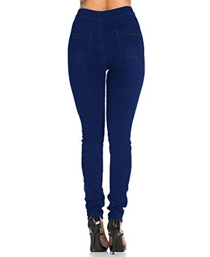 Jeans Elasticizzati Donna Vita Alta Skinny Jeans Leggins Donna Stretti Pantaloni Push Up
