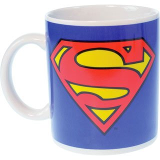 Superman Classic Keramik Tasse - Motiv: Logo!