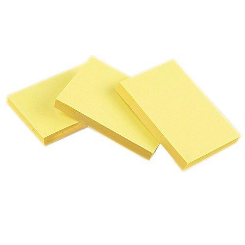 Nikgic Caliente Venta schreibwaren 100Amarillas–Cuaderno de Notas Adhesivas klebezettel Grande Multicolor Student a la Escolar jahreszeit