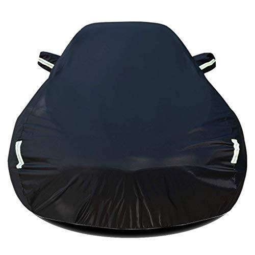 HWTZ Car Cover Autoplane Outdoor Passend Für Porsche 718 Boxster T Cabrio Abdeckplane Autogarage Schmutzabweisend Wasserabweisend Für Winter & Sommer,Schwarzsinglelayer