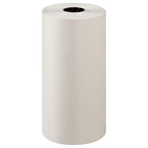 BOX USA Newsprint Packing Paper Roll, 1440' Length x 18' Width, 100% Recycled, White, Great for Moving, Storing, and Packing