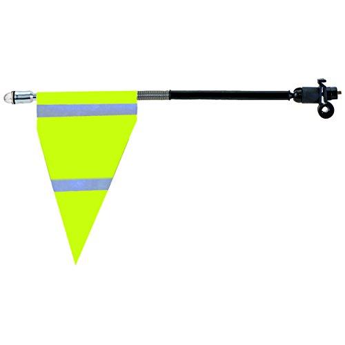 M-Wave Fahrrad-Sicherheits-Flaggenstangen, Herren, 120970, Neongelb, Einheitsgröße