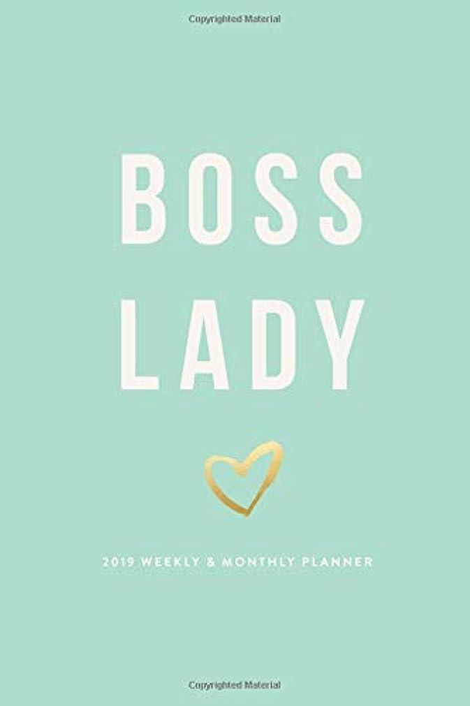 リスナーまた即席Boss Lady | 2019 Weekly & Monthly Planner (2019 12-Month Daily Weekly Monthly Planner, Organizer, Agenda Journal and Calendar)