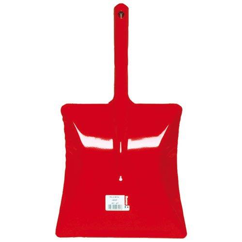 MSV 100102 Pelle métal laqué, Acier/Revêtement, Rouge, 35 cm