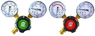 SÜA – Oxygen and Acetylene Regulators Welding Gas Gauges -Pair – Rear Entry..