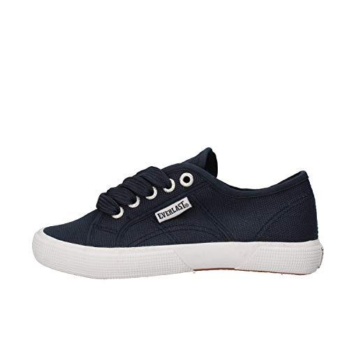 Everlast Sneaker Bambino Tela Blu 32 EU