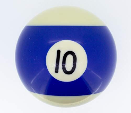 Premiergames - Bolas de Billar (57,2 mm), Nr. 10, 57,2mm
