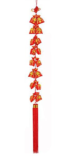 East Utopia Style Chinois Nouvel an Hanging Decor Retro Ornements
