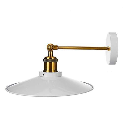Fácil ajuste de pie moderna Escritorio Pantalla Luz Industria de la vendimia de luz de lámpara de techo de sombra de pared Pantalla Cubierta lámpara de pared de cortina decoración con el brazo girator