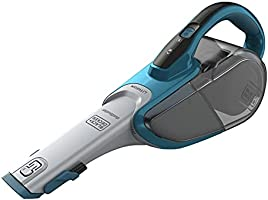 Black+Decker 10.8V 21.6Wh Lithium-ion Cordless Dustbuster/ Hand Vacuum Cleaner, White - DVJ320J-B5, 2 Year Warranty