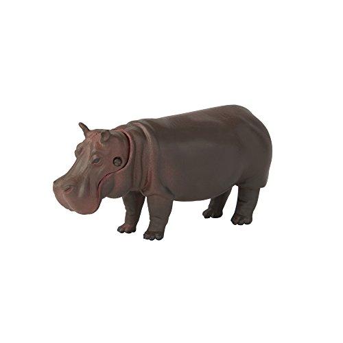 ANIA T16048 - Mini Figura articulada de hipopótamo